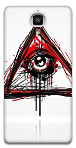 The Racoon Lean Doodler hard plastic printed back case / cover for Xiaomi Mi 4