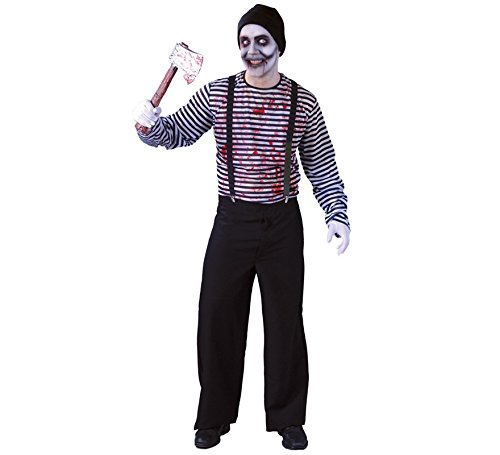 Imagen de disfraz de mimo asesino para hombre