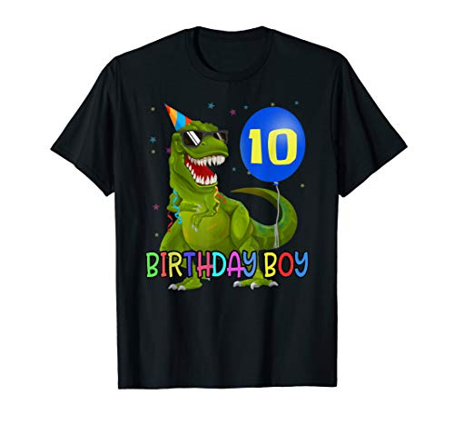 Junge 10. Geburtstag T-Shirt Geschenk ()