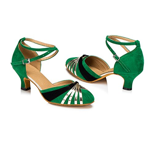 Miyoopark - Ballroom donna Green-5cm Heel