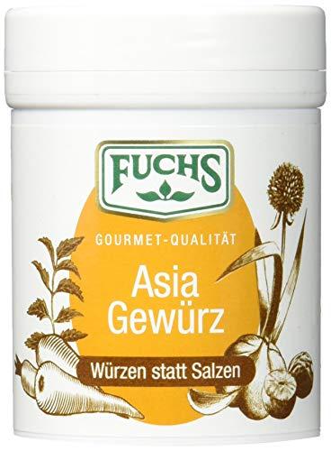 """Fuchs Würzen statt Salzen """"Asia"""" orientalische Gewürzmischung Salzersatz, Curry-Gewürz, ideal auch als Salat- und Grillgewürz, Menge: 3 Stück á 70 g"""