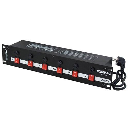 Eurolite 70008275 Board 6-S mit 6x Schutzkontakt