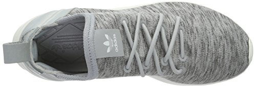 adidas Zx Flux Adv Virtue, Baskets Basses Femme Gris (Clear Onix/Clear Onix/Core White)