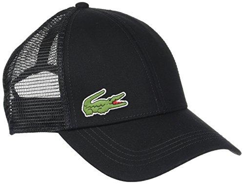 Lacoste Herren RK2321 Baseball Cap, Schwarz (Noir), One Size (Herstellergröße: TU)