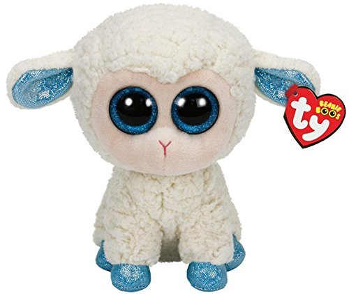 Beanie Boos Buddy Olga/Schaf weiss-Hufe blau 24cm [German Version]
