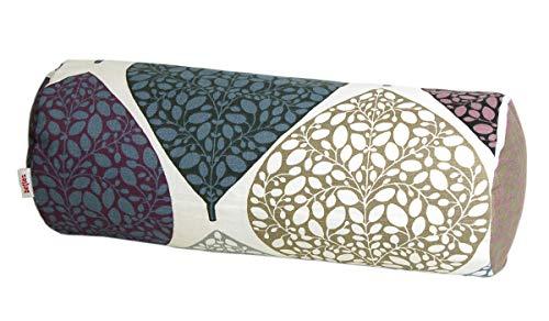 beties Momente Nackenrollen Bezug ca. 15x40 cm in interessanter Größenauswahl hochwertig & angenehm 100% Baumwolle Farbe (Hortensie) -