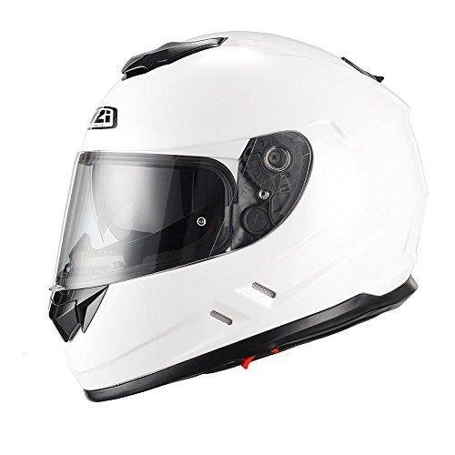 Casco de moto integral NZI Symbio blanco XS