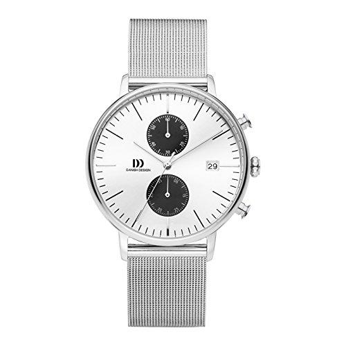 Danish Design Reloj Cronógrafo para Hombre de Cuarzo con Correa en Acero Inoxidable IQ74Q975
