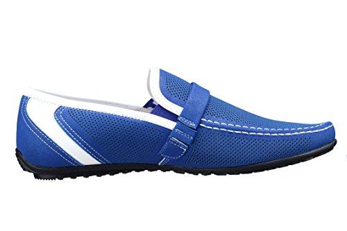 Goor Chaussure Derbie Fgl17 Mocassin 23 Blue Bleu