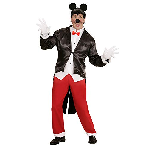 Maus Kostüm Mann - Widmann 05883 Erwachsenenkostüm Mister Mouse, Herren, mehrfarbig