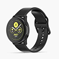 Samsung SM-R500BK Galaxy Watch Active - Black, (Pack of 1)