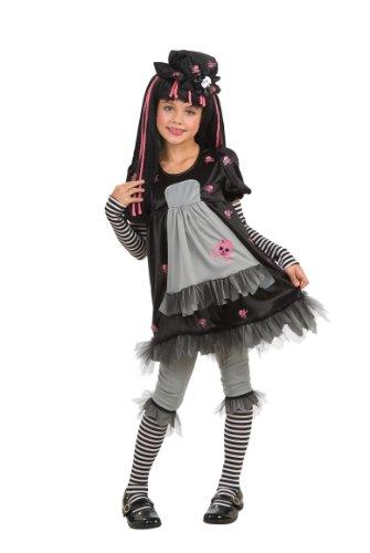Rubies - Disfraz infantil de Black Dolly (884681-M)