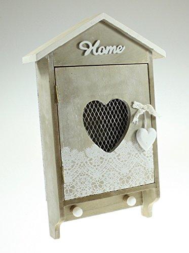 Shabby Chic in legno chiave Scatola porta