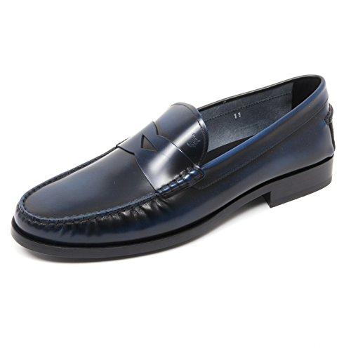 b8420-mocassino-uomo-tods-scarpa-blu-fondo-cuoio-shoe-loafer-man-7