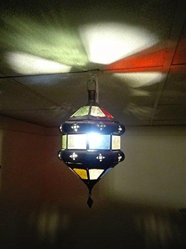 Etnico Arredo Lustre plafonnier marocain Suspension Lanterne Lampe Applique Ethnique Chic Vintage Arabe Afrique Orientale Maroc 0920