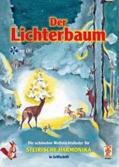DER LICHTERBAUM - arrangiert für Steirische Handharmonika - Diat. Handharmonika - mit CD [Noten / Sheetmusic]