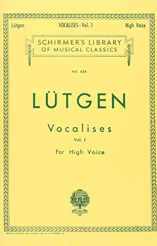 1: Vocalises (20 Daily Exercises) - Book I: High Voice