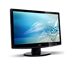 """Acer 24"""" Wide 16:9  LCD TFT Monitor FHD, 2ms,40000:1, MM, DVI w/HDCP, HDMI TCO03 Black glossy w/ blue footstand euro/UK EMEA + ACM"""