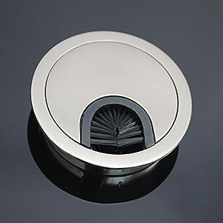 Mprofi Computer Metal Grommet for Desk Table Cable Tidy 90 mm - INOX