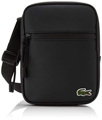 Lacoste - Nh2884po, Shoppers y bolsos de hombro Hombre, Negro (Black), 2.5x20.5x15.5 cm (W x H L)