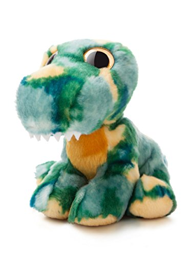Aurora World Candies T-Rex Rock Plush Toy (Green/Yellow/Blue)