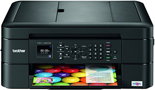 Brother MFC-J480DW Multifunktionsdrucker Tintenstrahl mit Scan/Fax/Copy-Funktion (4 Color X)