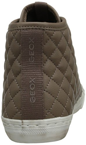 Geox D Winter Club B, Scarpe da Ginnastica Donna Marrone (Taupe C6029)