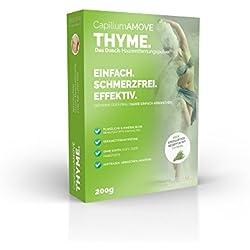 Capillum AMOVE Thyme - Crema depilatori/depilatoria per la pelle sensibile, 200 g