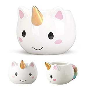 Taza de ceramica,Taza unicornio de