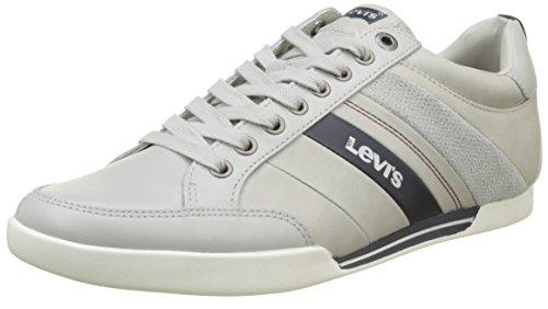 Levi's Herren Turlock Sneaker, Grau (Light Grey), 44 EU (Garcon Modell)