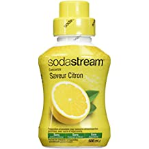 Sodastream Concentré Sirop Saveur Citron Original pour Machine à Soda Jaune 500 ml
