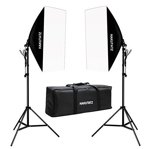 Hakutatz Studio Dauerlicht Set Daylight Foto Studio 2x - Porträt-studio-blitz