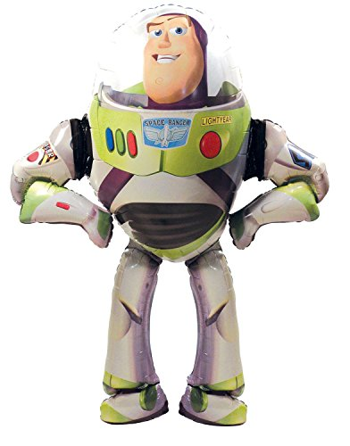 Amscan Anagram 2347801 - Party und Dekoration - Folienballon Air Walker - Disney Toy Story - Buzz Lightyear, circa 101 x 134 cm (Toy Story Party-dekorationen)