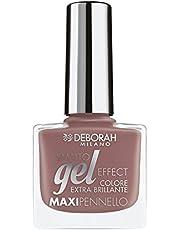 Deborah Milano Gel Effect Nail Enamel, Nude Caramel 03