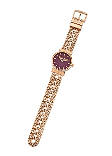 Just Cavalli Women's Quartz Watch with Silver Couture Analogue Quartz Stainless Steel R7253578502