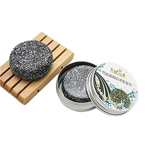 rebirthesame Rosmarin Shampoo Seife, Reveur Scalp Lavendel Pflanzenöl Haarpflege Shampoo, Aluminium Box Verpackung -