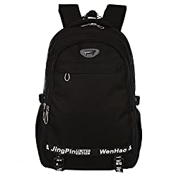 Super Modern Unisex Hiking Backpack School Bag Waterproof Nylon Cool Sports Backpack Laptop Bag