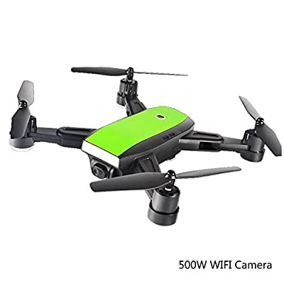 GPS RC Foldable Drone Quadcopter Wide-Angle 500W 170° Wide Angle HD WIFI Camera Altitude Hold Intelligent Battery Aircraft MINI DRONES,1Battery from Zhangchunx Jiajuzhuangshidian