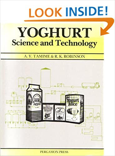 Book Yogurt: Science and Technology (Pergamon international library of science, technology, engineering and social studies)
