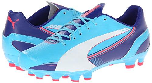Puma Women s Evospeed 5 3 FG Training Shoe  Blue Atoll White Clematis Blue Bright Plasma  6 5 B US