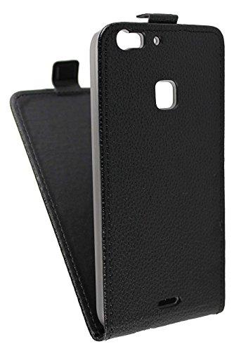 caseroxx Hülle/Tasche Flip Cover passend für UMI UMIDIGI Iron Pro, Schutzhülle (Handytasche klappbar in schwarz)