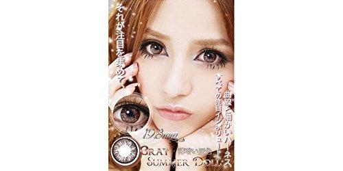 Kontaktlinsen farbig große Augen ohne Stärke Fantasie 1Jahr haltbar Schwarz Grau Grün Blau Braun Violett, grau