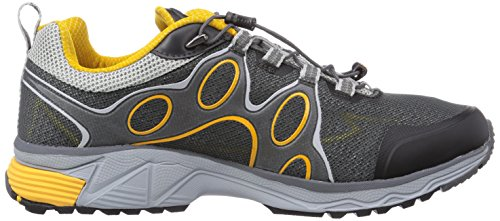 Jack Wolfskin PASSION TRAIL M Herren Outdoor Fitnessschuhe Grau (burly yellow 3800)