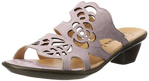 Think Damen Nanet Offene Sandalen mit Keilabsatz, Pink (Rose 34), 37 EU