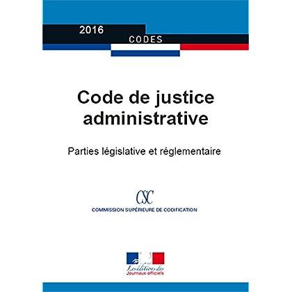 Code de justice administrative (Codes)