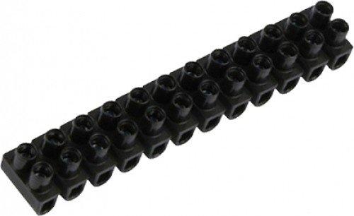 Preisvergleich Produktbild REV Ritter 0518411555 Lüsterklemme 2.5 qmm, 10 x 12-polig, schwarz
