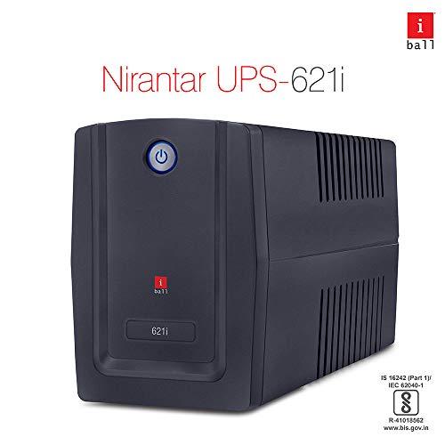 iBall Nirantar 621i Uninterrupted Power Supply (Black)