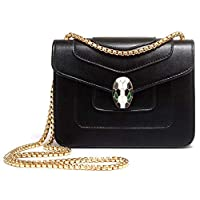 Fashion Black Shoulder Bag For Women Summer Style Chain Crossbody Bag Ladies Dress HandBag