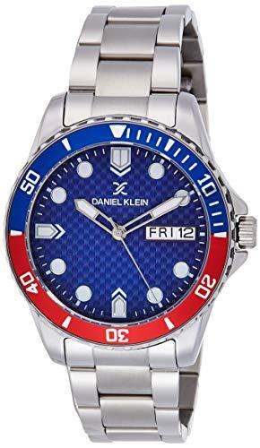 Daniel Klein Analog Blue Dial Men's Watch-DK11926-6