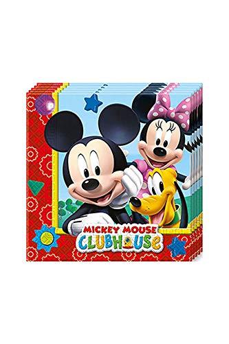 (Mickey Maus Wunderhaus 20 Servietten Kindergeburtstag)